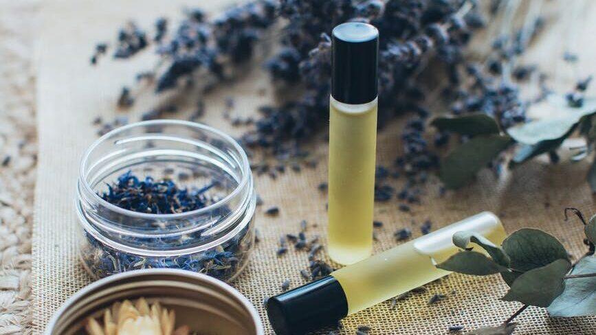 lavender and massage oils